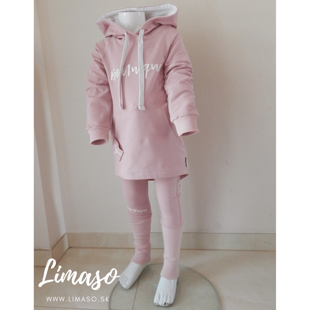 Mikina Be Unique Basic PINK